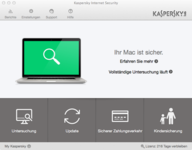 Bild von Kaspersky Internet Security for Mac - 1 User / 12 Monate [Mac-Software]
