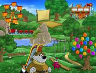 Bild von Emil und Pauline auf dem Spielplatz [PC-Software]