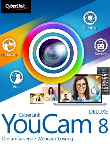 Verpackung von YouCam 8 Deluxe [PC-Software]