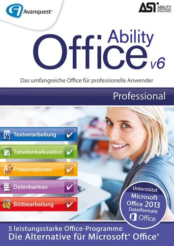 Verpackung von Ability Office 6 - Professional [PC-Software]