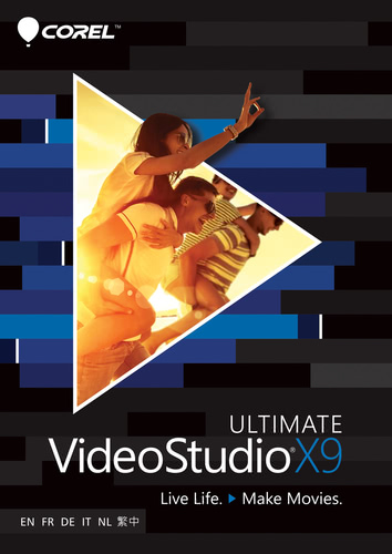Packaging by Corel VideoStudio Ultimate X9 [PC-software]