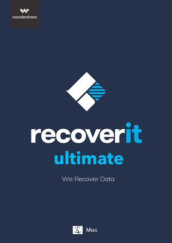 Verpackung von Wondershare Recoverit Ultimate [Mac-Software]