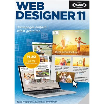 Verpackung von Magix Web Designer 11 [PC-Software]