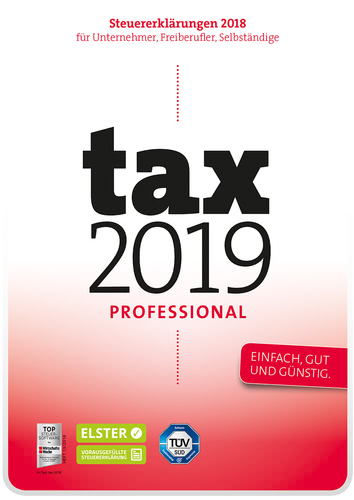 Verpackung von Tax 2019 Professional [PC-Software]