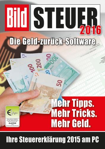 Verpackung von BILD Steuer 2016 [PC-Software]