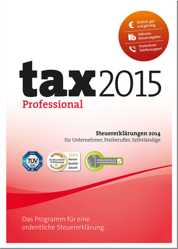 t@x 2015 Professional, ESD (Download) (PC)
