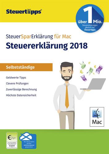 Verpackung von SteuerSparErklärung Selbstständige 2019 (für Steuerjahr 2018) [Mac-Software]