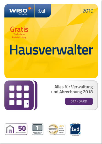 WISO Hausverwalter 2019 Standard, ESD (Download...