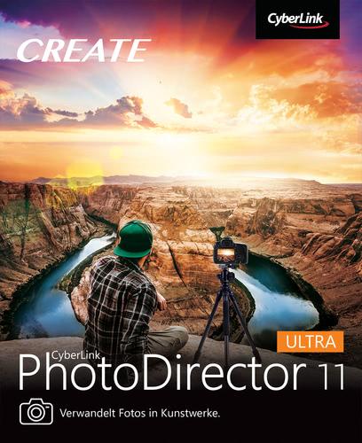 Verpackung von PhotoDirector 11 Ultra [PC-Software]