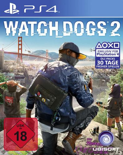 Verpackung von Watch Dogs 2 [PS4]