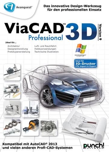 ViaCAD 3D 9 Professional, Upgrade