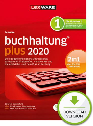Verpackung von Lexware buchhaltung 2020 Plus Jahresversion (365 Tage) [PC-Software]