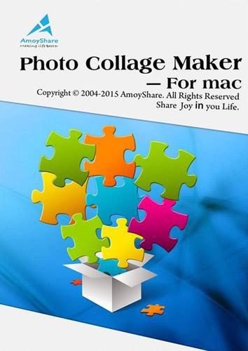 Verpackung von Amoyshare Photo Collage Maker [Mac-Software]