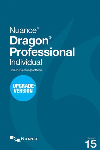 Verpackung von Nuance Dragon Professional Individual 15 - Upgrade von Premium 12 oder höher [PC-Software]