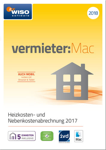 WISO vermieter: Mac 2018, ESD (Download) (MAC)