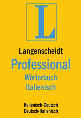 Verpackung von Langenscheidt Professional-Wörterbuch Italienisch [Mac-Software]