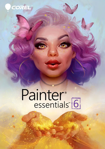 Verpackung von Painter 6 Essentials [Mac-Software]