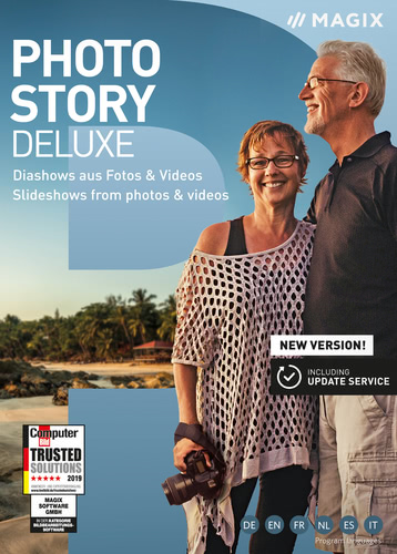 Verpackung von Photostory Deluxe 2020 [PC-Software]