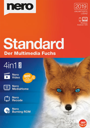 Nero Standard 2019, (Box), PC
