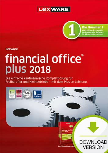 Verpackung von Lexware financial office plus 2018 Jahresversion (365-Tage) [PC-Software]