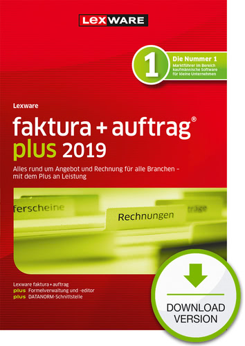 faktura+auftrag plus 2019 (Download), PC