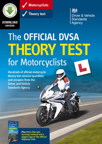 Packaging by The Official DVSA Theory Test 2016 for Motorcyclists [PC-software]