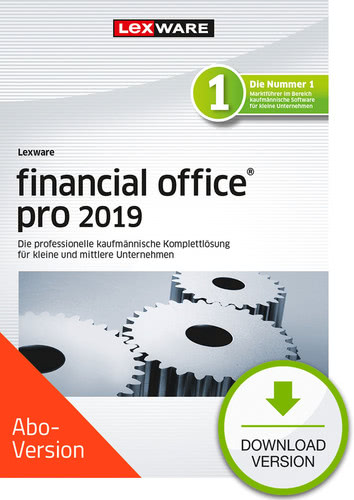 Verpackung von Lexware financial office pro 2019 Download - Abo Version [PC-Software]