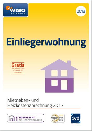 Verpackung von WISO Einliegerwohnung 2018 [PC-Software]
