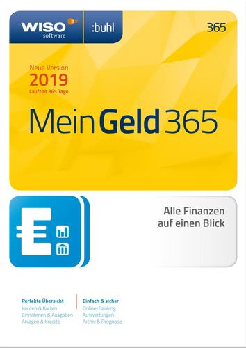 WISO Mein Geld 365 Tage (Version 2019) (Download), PC