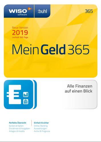 Verpackung von WISO Mein Geld 365 Tage (Version 2019) [PC-Software]