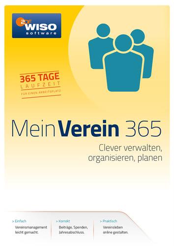 Verpackung von WISO Mein Verein 2017 (365 Tage Version) [PC-Software]