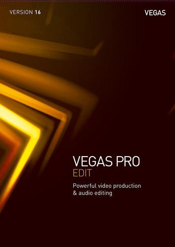 Verpackung von Vegas Pro 16 Edit [PC-Software]
