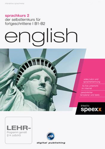 Verpackung von Sprachkurs 2 English [PC-Software]