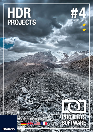 Verpackung von HDR projects 4 [PC-Software]