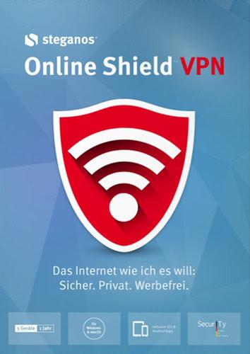 Verpackung von Steganos Online Shield VPN [PC-Software]