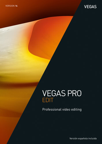 Packaging by VEGAS Pro 14 Edit [PC-software]