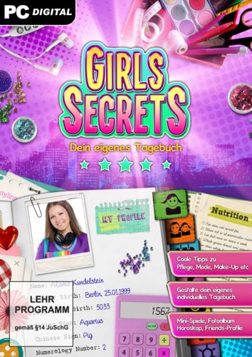 Verpackung von Girls Secrets [PC-Software]