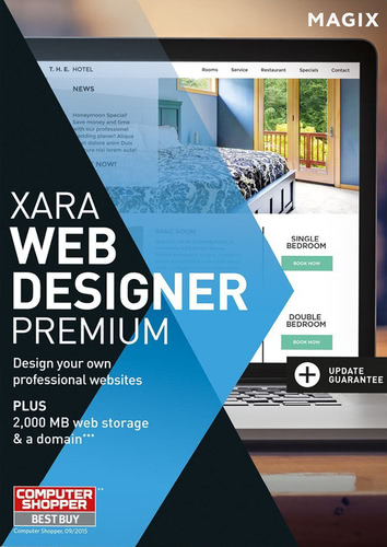 Packaging by Magix Xara Web Designer 12 Premium [PC-software]