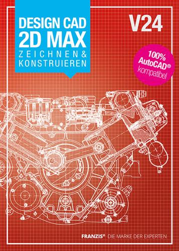 Verpackung von DesignCAD 2D MAX V24 Zeichnen & Konstruieren [PC-Software]