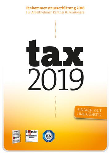 Verpackung von tax 2019 [PC-Software]