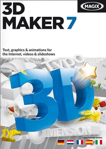Verpackung von Magix 3D Maker 7 [PC-Software]