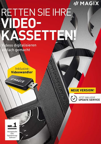 Verpackung von Retten Sie Ihre Videokassetten 9 [PC-Software]