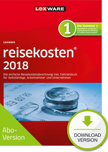 Verpackung von Lexware reisekosten 2018 Download - Abo Version [PC-Software]