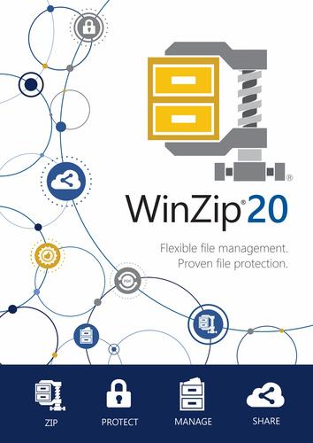 Verpackung von WinZip 20 Standard [PC-Software]