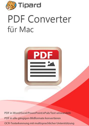 Verpackung von Tipard PDF Converter für Mac - lebenslange Lizenz [Mac-Software]