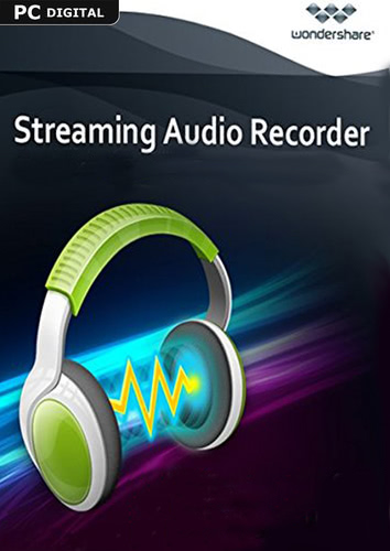 Packaging by Wondershare Streaming Audio Recorder - Lifetime License [PC-software]