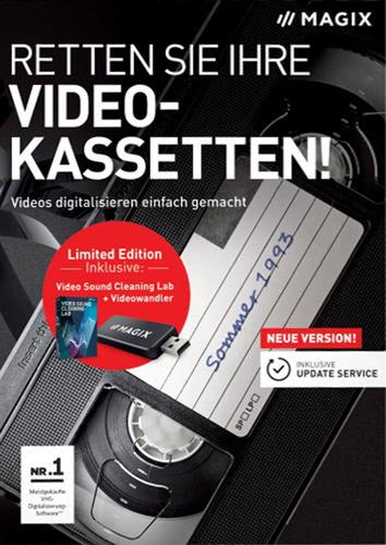 Verpackung von Magix Retten Sie Ihre Videokassetten Limited Edition (2018) [PC-Software]