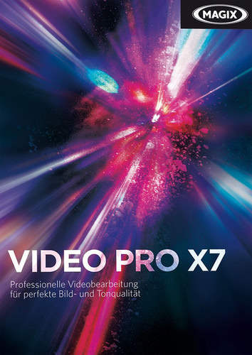 Verpackung von Magix Video Pro X7 Crossgrade [PC-Software]