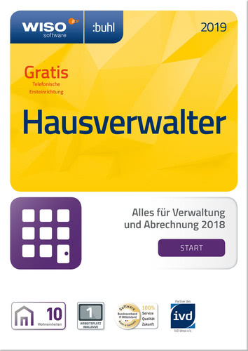 WISO Hausverwalter 2019 Start, ESD (Download) (PC)