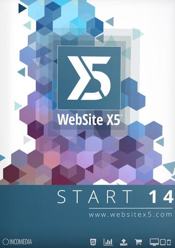 Verpackung von WebSite X5 Start 14 [PC-Software]